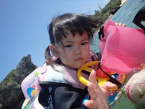 シュノーケリング2歳の子供と海デビュー