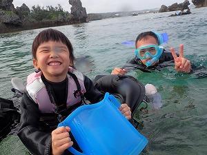 4歳の子と一緒に楽しめる沖縄でシュノーケリング