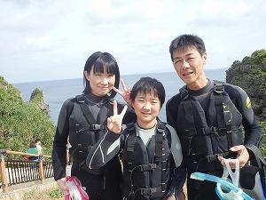 沖縄シュノーケリング子連れ