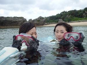 沖縄ダイビング終わり