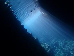 青の洞窟シュノーケリングセノーテ