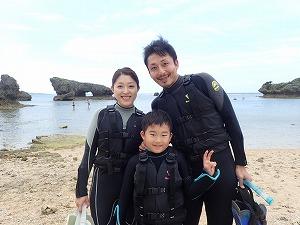 沖縄シュノーケリング子供