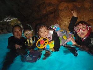 青の洞窟シュノーケリング子連れ