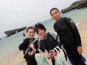沖縄シュノーケリング泳げなくても楽しめる