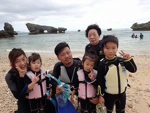 沖縄旅行でシュノーケリング体験