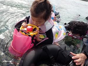 沖縄シュノーケリング2歳