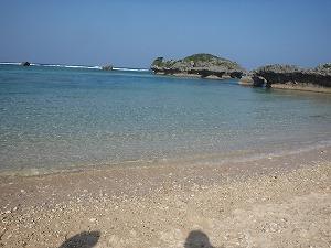 沖縄ダイビングビーチ