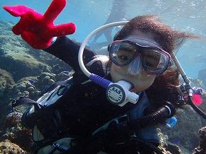 8歳ダイビング