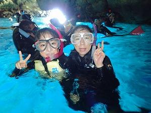 おすすめ青の洞窟シュノーケリング