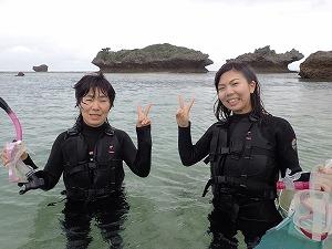 人気の貸切シュノーケリング沖縄