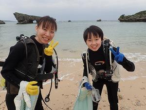 沖縄ダイビング子供と一緒に
