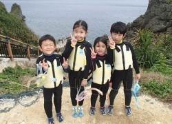 子供も楽しめる青の洞窟シュノーケリング
