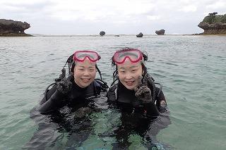 沖縄ダイビング思いで作り