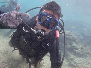 体験ダイビング 写真