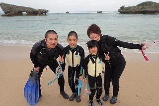 沖縄朝一からシュノーケリング海に癒されて最高の思いで作り