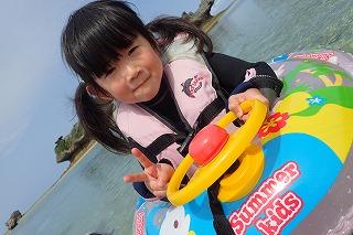 沖縄シュノーケリング 3歳