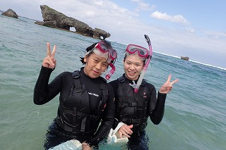 沖縄シュノーケリングで海を満喫