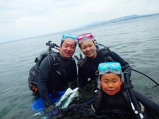 沖縄ダイビング8歳