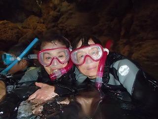 青の洞窟内写真