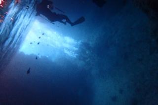 青の洞窟シュノーケリング
