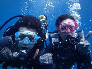 ダイビング水中写真