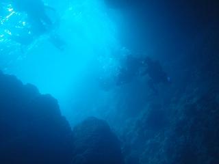 青の洞窟ダイビングブルー