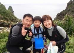 5歳以下の子供と青の洞窟シュノーケリングが楽しめる!!