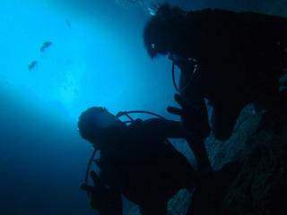 青の洞窟ダイビング