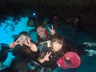 シュノーケリング青の洞窟