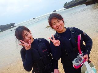 貸切シュノーケリング 沖縄旅行