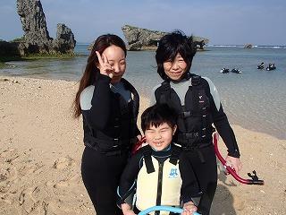 泳げない子どもも安心 シュノーケリング