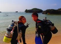 沖縄ダイビング いってきます!
