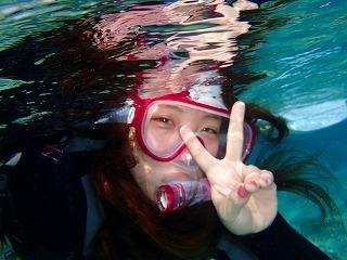 沖縄旅行記念 シュノーケリング