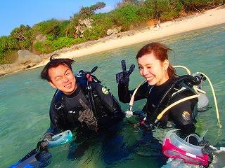 沖縄ダイビング すてきな笑顔です♪