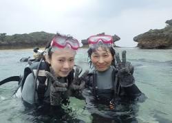 親子で♪沖縄ダイビング