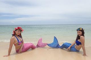 マーメイド体験 沖縄で人魚姫に!