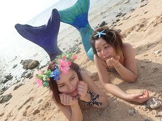 沖縄マーメイド体験