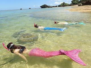 沖縄 人魚 マーメイドスイム