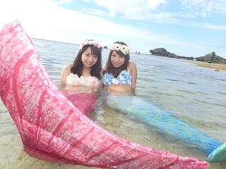 マーメイド体験 かわいい人魚姫!