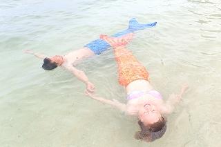 マーメイド体験 泳ぐこともできますよ