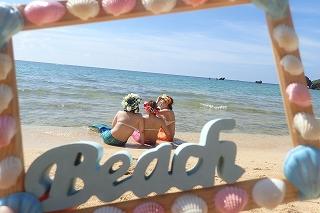 マーメイド体験 プライベートビーチで