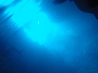 青の洞窟シュノーケリング きれい~!