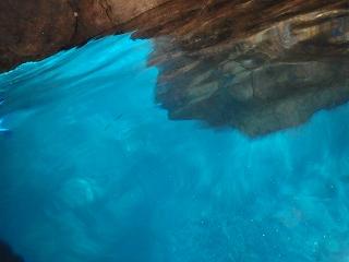 青の洞窟シュノーケリング きれい!