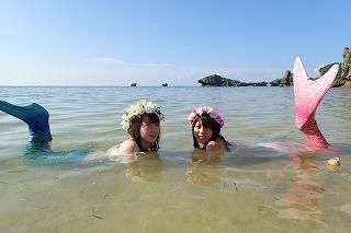 マーメイド体験 沖縄 撮影