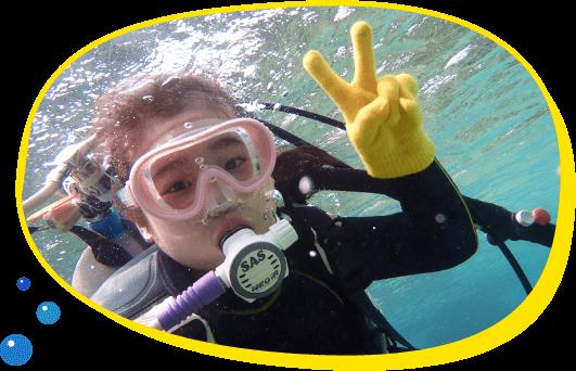 シュノーケリング ダイビングがはじめての方も安心して自分のペースで楽しめる1組貸切案内