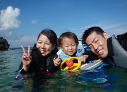 沖縄,シュノーケリング,子供,幼児,
