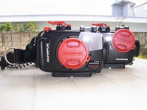 ダイビング シュノーケリングの水中カメラ