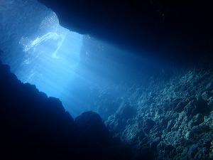 青の洞窟ダイビング セノーテ