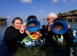 沖縄シュノーケリング幼児