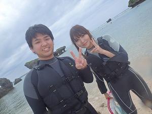 貸切シュノーケリング 沖縄の海で思い出作り